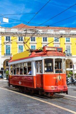 Sticker Lisbon tram