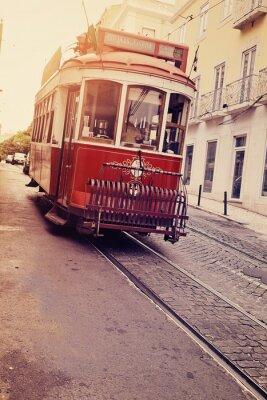 Sticker Lisbonne (Tram électrique)