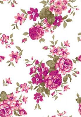 Sticker Livia Blumenmuster
