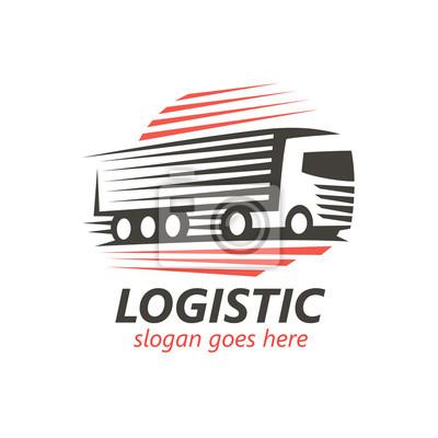 Logistic Logo Vorlage. (Vektor)