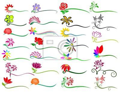 Logo der Blumen.