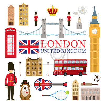 London, England and United Kingdom Tourist Attractions