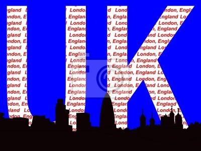london Skyline Illustration