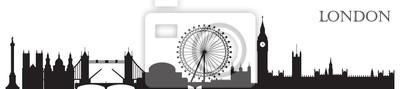 London Skyline silhouette 10