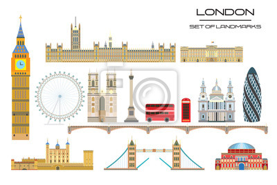 London skyline vector 1