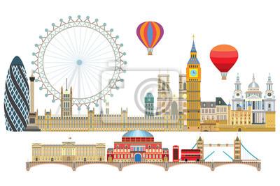 London skyline vector 2