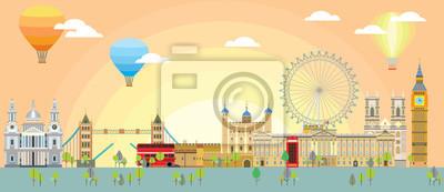 London skyline vector 4
