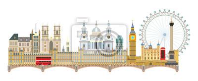 London skyline vector 6