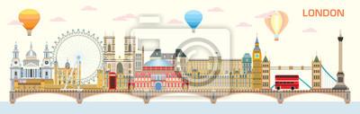 London skyline vector 8