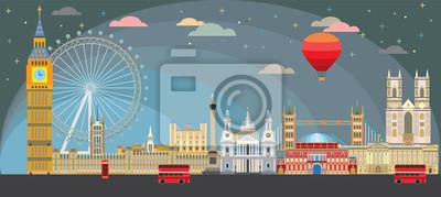London skyline vector 9