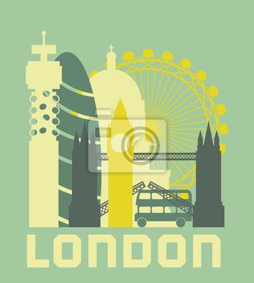 London Symbole Poster