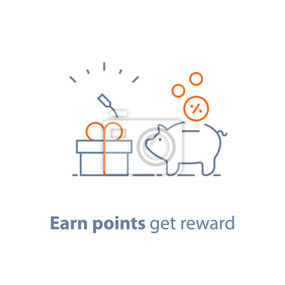 Loyalitätsprogramm Verdienen Sie Punkte Und Erhalten Sie Belohnung