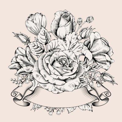 Sticker Luxury Rose