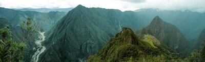 Sticker Machu Picchu Panorama