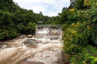 Mae klang Wasserfall, Doi Inthanon Nationalpark, Thailand