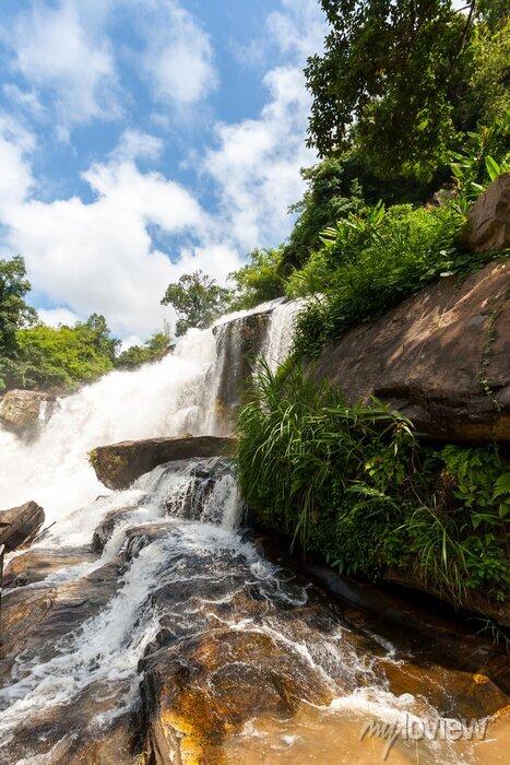 Sticker Mae klang Wasserfall, Doi Inthanon Nationalpark, Thailand