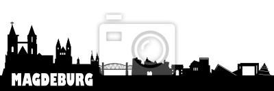 Magdeburger Skyline