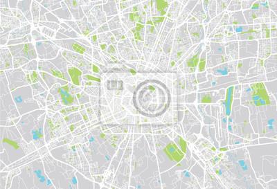 Mailand Stadtplan ein