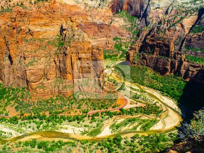Sticker Main Valley of Zion National Park