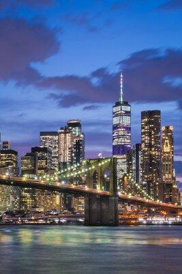 Manhattan and Brooklyn Bridge, New York City