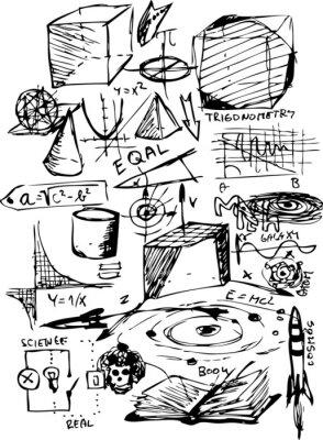 Sticker mathematische Symbole