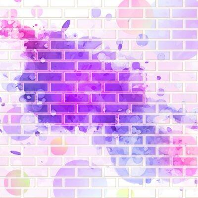 Sticker Mauer, Graffiti