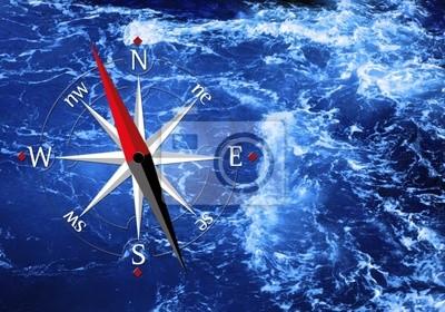 Meer und Kompass
