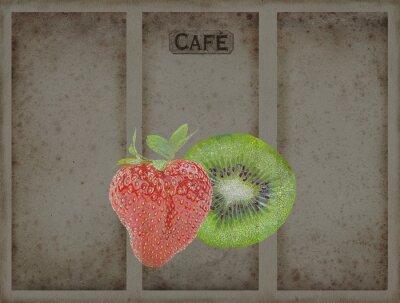 Sticker Menü-Hintergrund