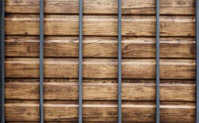 Metall dekorative Gitter außerhalb Textur Hintergrund horizontale