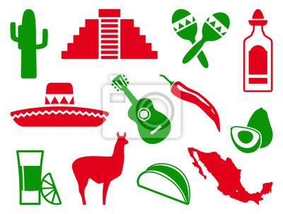 Mexican-Icon-Set