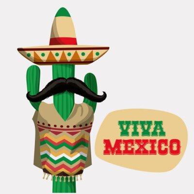 Sticker Mexiko Design.