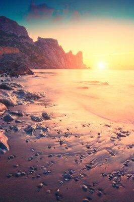 Sticker Morgen am Meer