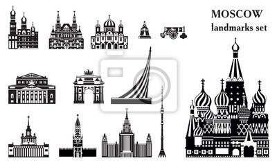 Moscow City Skyline vector 5