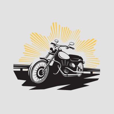 Sticker Motorrad-Label