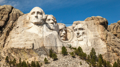 Sticker Mount Rushmore Landschaft