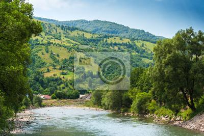Mountain Fluss