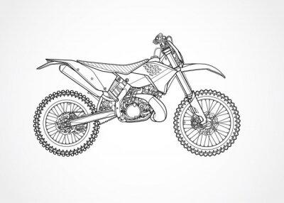 Mountainbike Vektor