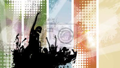 Musik-Ereignis Hintergrund