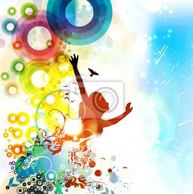 Musik-Hintergrund