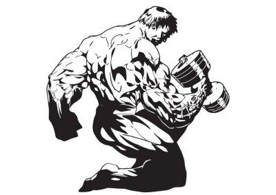 Muskulösen Körper