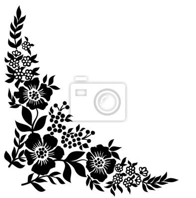 Muster mit Blumen.