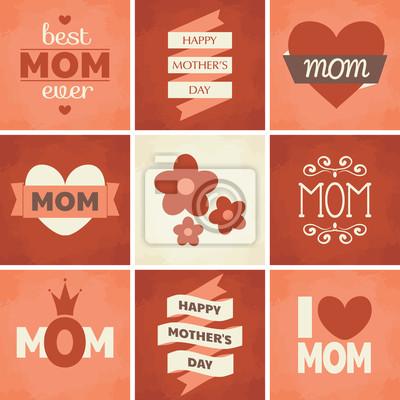 Muttertag Karten-Sammlung
