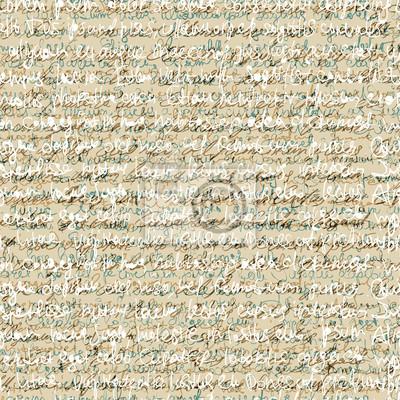 Nahtlose abstrakte Muster Handschrift. Vektor Hintergrund, eps10