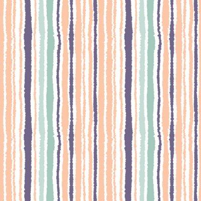 Sticker Nahtlose gestreiften Muster. Vektor