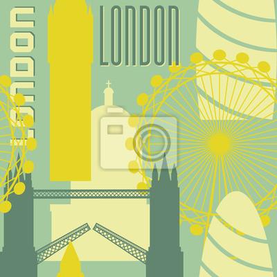 Nahtlose Hintergrund London