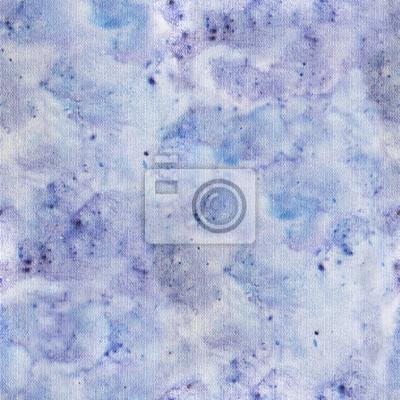 Nahtlose Muster mit abstrakten blauen Denim Textur. Blauer waterclor Spritzen auf Segeltuch