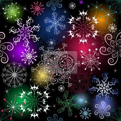 nahtlose Muster Weihnachten