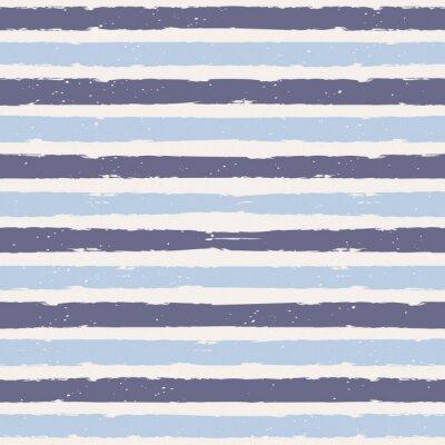 Sticker Nahtlose Streifen Muster