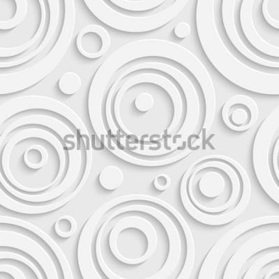 Sticker Nahtloses Kreismuster