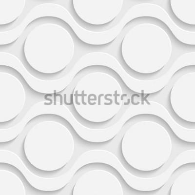 Sticker Nahtloses Tech-Muster
